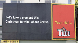 DB Breweries has been shocked to learn that billboards such as this one weren't taken seriously.