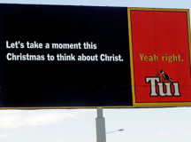 Tui billboards all a big misunderstanding