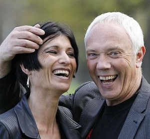 Reptilian Bob Parker, seen here controlling the mind of his human wife Jo, has doubts about his ability to win another election with his powers of mass hypnosis.