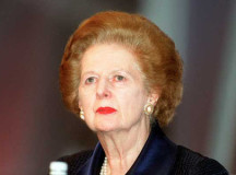 Libertarians are divided on whether caring about Thatcher's death will advance their standing in the free market