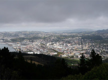 It's not snow yet, but Dunedin residents are desperately hoping it will be.