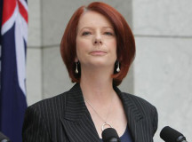 Julia Gillard is exhibiting a fiery determination to emerge victorious in the last election.