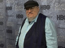 George R. R. Martin has denied leaking future plot details, saying that he hasn't read the books, and only watches the TV show.