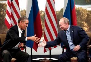 Presidents Obama and Putin leave a G8 meeting satisfied that they agree on at least something.