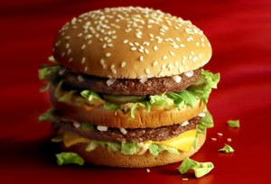 This Big Mac may contain small but noticeable traces of dead cow, says Seven Sharp.