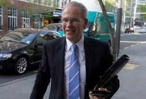 One of what is estimated to be thousands of pictures of Len Brown walking.