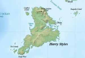 Stewart Island will be only the 17th island to be renamed after One Direction heartthrob Harry Styles.