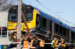 """KiwiRail says it will consider removing the poll from the middle of the Lower Hutt train track, but doesn't want to jump to """"any conclusions"""" or do """"anything hasty."""""""