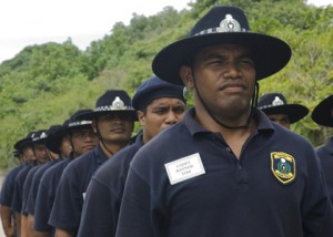 Nauru's national police force, featuring the much-feared Cadet Raynor Tom, is of great concern to those entrusted with New Zealand's national security.