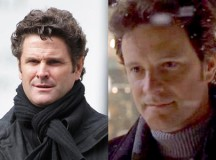 Chris Cairns today (left) and in 2001 film Bridget Jones's Diary (right).