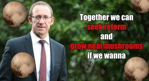 CLICK TO ENLARGE: Andrew Little published this poster to his Facebook page earlier today.