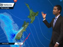 """MetService says the forecast is based on """"current trends"""""""