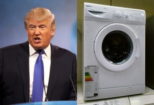 A New York University experiment has found that – perhaps unexpectedly – Trump was even more likable as a home appliance.