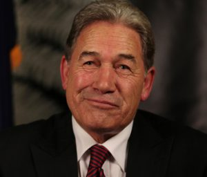 By Winston Peters.