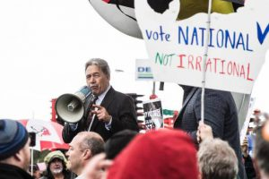 Farmers were deeply disappointed when an incantation meant to summon the Cow God instead summoned Winston Peters.
