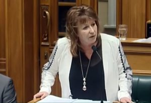Former Broadcasting Minister Clare Curran may have lost her job, but she survives another day without being fired from it.